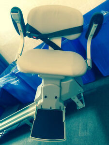 Powered stair lift chair