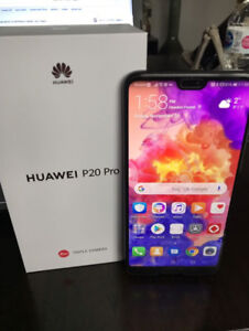 Brand New Condition Huawei P20 Pro ROGERS
