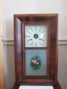 Circa 1870-1890 Heirloom Waterbury Clock