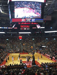 Raptors vs Net Feb 11. Lower Bowl -2 Tkts 120