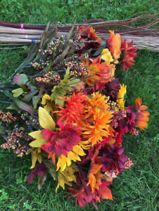 Fall Decorations/Flowers