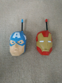 Marvel walkie talkies