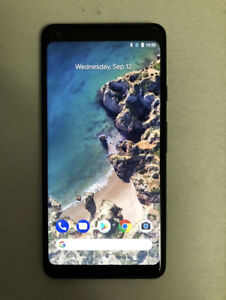 LIKE NEW GOOGLE PIXEL 2 XL 128gb BLACK COLOUR UNLOCKED