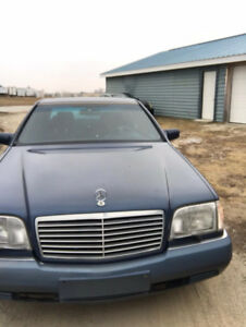 For Sale 1991 Mercedes Benz S600, V12,  Low KM, Fully Loaded