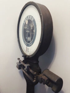Vintage Industrial Toledo Upright Honest Weight Scale