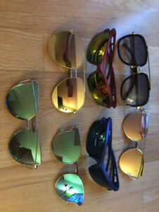 All_Fashion Sunglasses for one priceAll gently used fashion sun