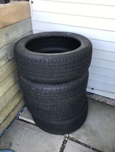 Set of like new 215/45/R18 Toyo Proxes 4 Plus