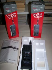 Radio Shack Walktie  Talkie