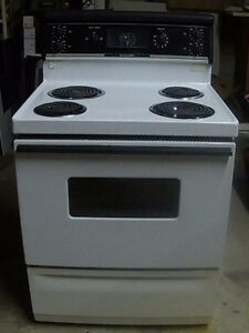 McClary  White Clean Stove