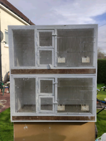 Breeding cages for birds