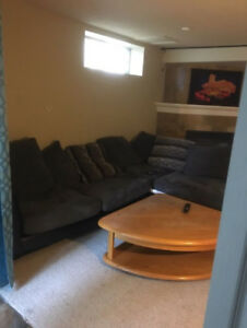 FURNISHED WALKOUT BASEMENT IN SOMERSET AVAIL DEC.1ST!!!!