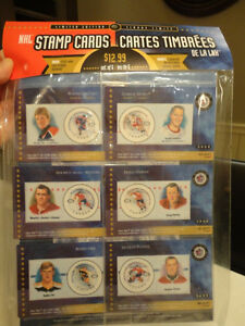 Brand New 3 Packs of NHL Stamp Cards & Canadiens 100 yrs. Pack Kitchener / Waterloo Kitchener Area image 2