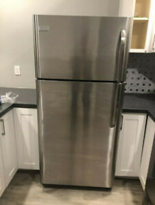 Brand new condition Frigidaire stainless steel fridge for sale