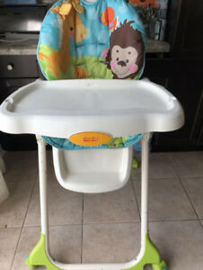 High Chair for babys, infants, and toddlers.