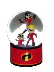 The Incredibles Snow Globe