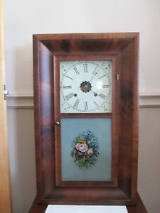 Circa 1870-1890 Heirloom Waterbury Clock