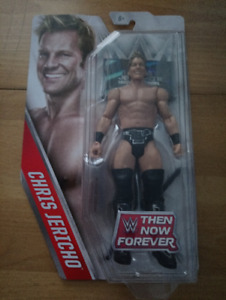 CHRIS JERICHO Then Now Forever WWE figure