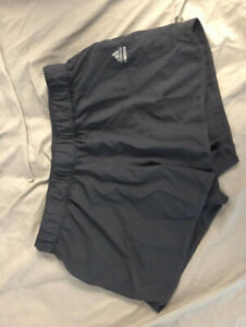 LIKE NEW WOMEN'S GREY ADIDAS SHORTS