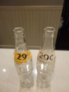 "Vintage Coke Bottles -2 1960 Mae West 10oz & 1-2"" Tall Miniature Kitchener / Waterloo Kitchener Area image 7"