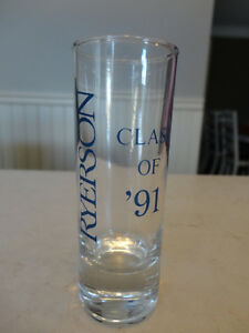 Vintage Ryerson University Shot Glass From 80's - Perfect Shape Kitchener / Waterloo Kitchener Area image 1