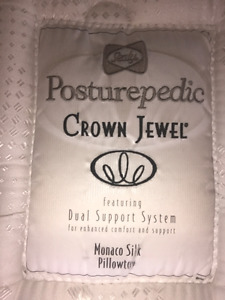 Posturepedic Crown Jewel King Bed