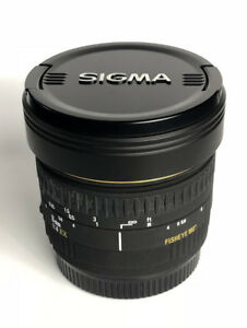 Sigma 8mm f/4 EX Fisheye Lens - Canon Mount - Mint Condition