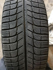 215 55 17 Michelin tires + steel wheels, great condition