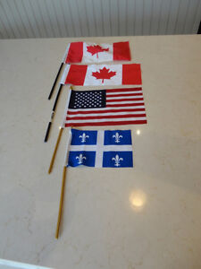 Set of 4 Mini Flags All in great condition  $2.00 for them all