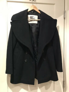 Authentic Burberry London Wool Cashmere Double-breasted Coat