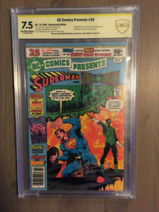 DC Comics Presents #26 1st New Teen Titans!! Signed!!