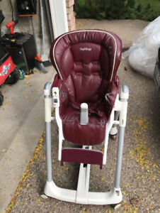 FREE Peg Perego High Chair!