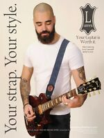 WANTED: Guitar Players for Levy's Leathers 2016 Ad Campaign