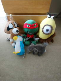 Soft plush toys
