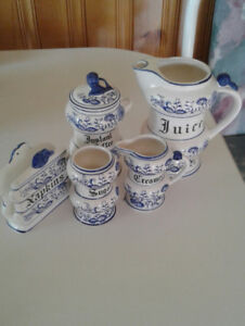 Blue Onion Set