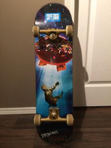 Galaxy Cat UFO Skateboard