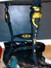 Cast ally /iron pub vintage table