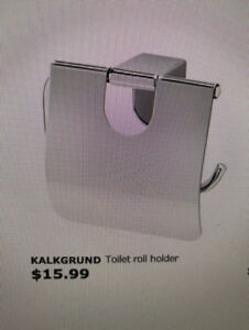 4 NEW toilet roll holders from IKEA