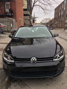 2017 Comfortline VW Golf - Lease transfer at a low cost