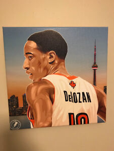 Selling demar derozan 6 painting