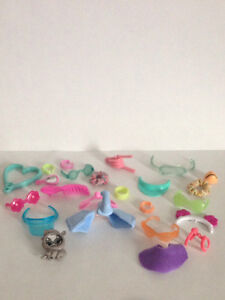 Littlest Pet Shop Glasses and Collars