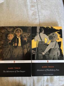 Mark Twain novels