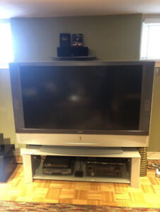Sony Grand 60-Inch HDTV LCD TV With TV Stand