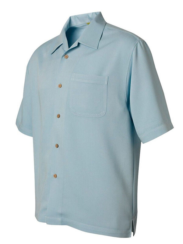 Cubavera Bedford Cord Camp Short-Sleeve Shirt