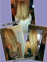 Mobile Hair Extension Services! Certified with Top Quality Hair
