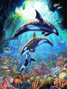 Diamond Painting Kit - Underwater Ballet