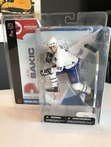 Mcfarlane NHL Series 5 Joe Sakic Nordique Québec Jersey WoW !