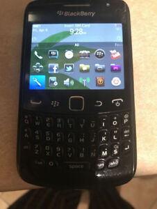Blackberry Curve 9360, unlocked and in excellent condition