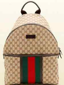 Authentic gucci backpack