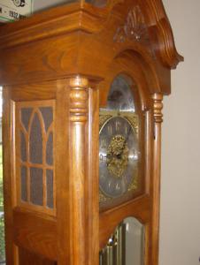 "Laurentien "" Minstral "" Oak grandfather Clock"