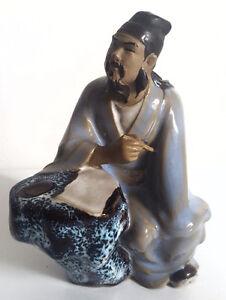 Figurine chinoise magnifiquement peinte à la main